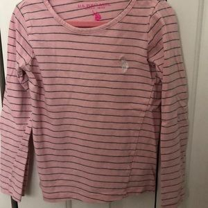 Ralph Lauren Girls Pink Shirt